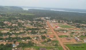 Vista parcial da cidade de Jacareacanga